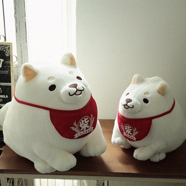 1 шт. Плюшевые Игрушки Симпатичные Мягкие Животное Собака Игрушки Куклы Творческой подарок для детей Подарок На День Рождения животного suffed куклы на Рождество подарок