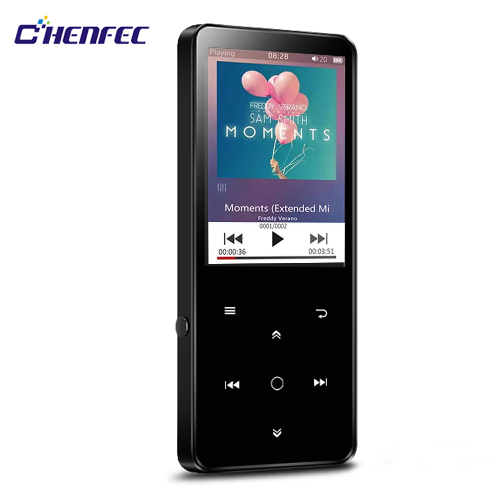 MP3 Player Bluetooth 4.0 and Speaker 2.4inch screen 16GB Lossless Sound Player Support FM Radio Music,Recorder,TF C10