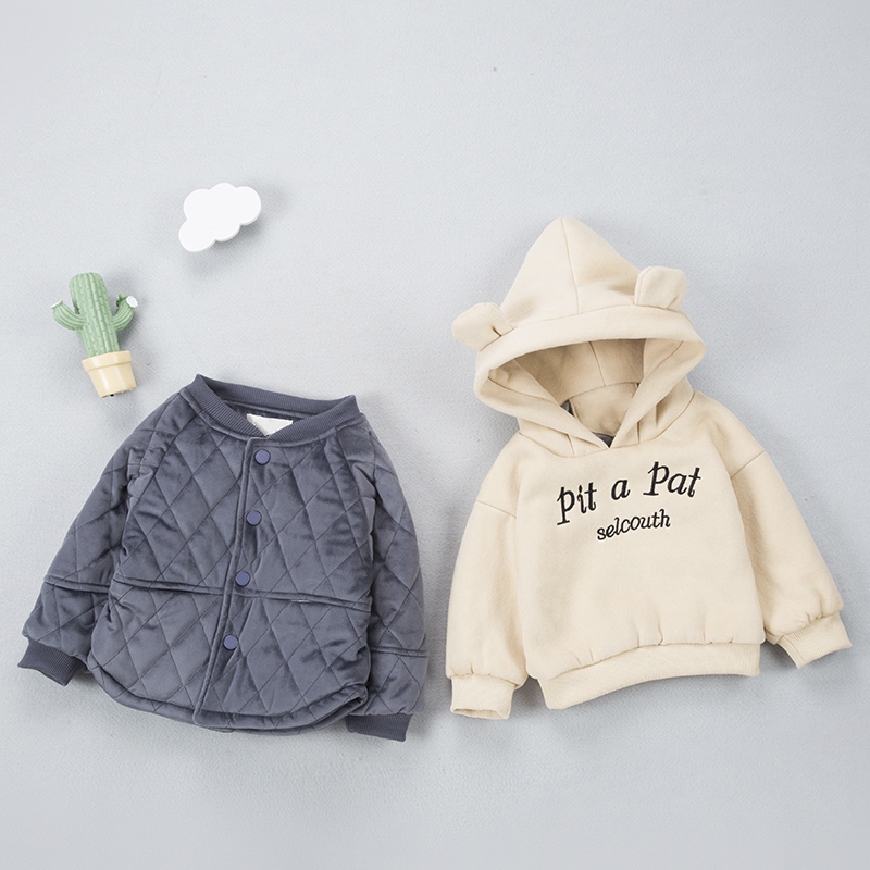 NEW Baby Set Winter Baby Girl boy Suit Super Thick Warm Coat+Clothing (Two Piece Sets) Baby Clothes  toddler boys clothing setNEW Baby Set Winter Baby Girl boy Suit Super Thick Warm Coat+Clothing (Two Piece Sets) Baby Clothes  toddler boys clothing set