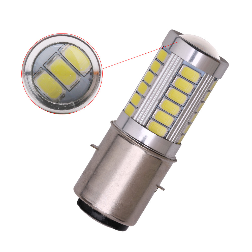 H6 BA20D Motorcycle Headlight Bulb Led Motorbike BA20D Led Scooter Accessories H6 Motor Light Headlamp DRL Lights
