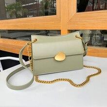 купить 2019 women's bag Genuine luxury handbags women bags designer famous brand crossbody for women Leather Vintage Shoulder Trendy по цене 2019.07 рублей