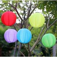 Waterproof Outdoor Solar Lights LED 30CM Solar Lantern Festival Lanterns Hanging China Celebration Lamp