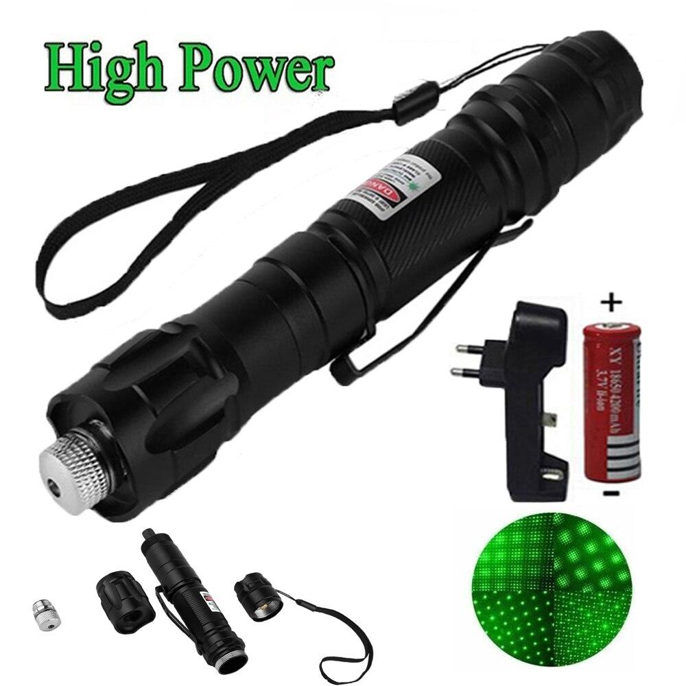 1 Pcs Hot High Power green Laser Sight 303 Pointer 8000m 5mW  Long Distance Starry Head Burning Match Lazer Pointer Strong pen laser hijau jarak jauh