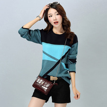 Hot Selling Autumn Women's Sweaters Thick Knitted Pullovers Female Long Sleeve Loose Cashmere Sweaters