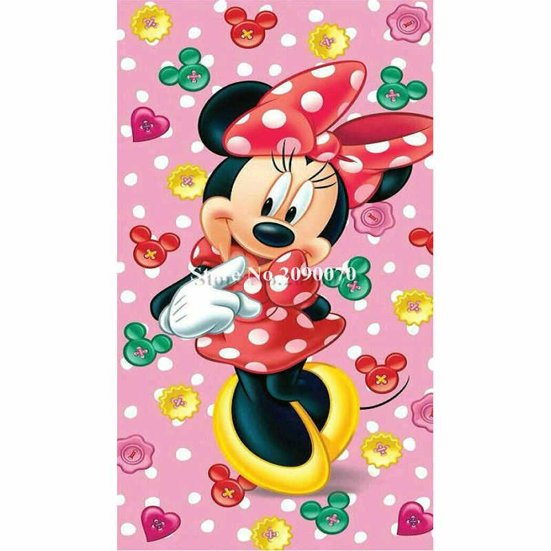 ダイヤモンド刺繍漫画のダイヤモンド塗装クロスステッチ m マウス DIY 5D モザイク絵フルラインストーン誕生日プレゼント
