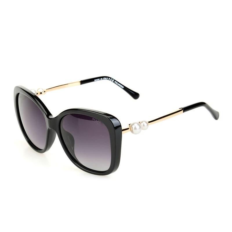 Occhiali Da Sole di marca Delle Donne Del Progettista di Marca Oculos De Sol Feminino di Stile del Gatto Occhiali Vintage Occhiali Polarizzati KMD120-136 A1077 Occhiali Da Sole