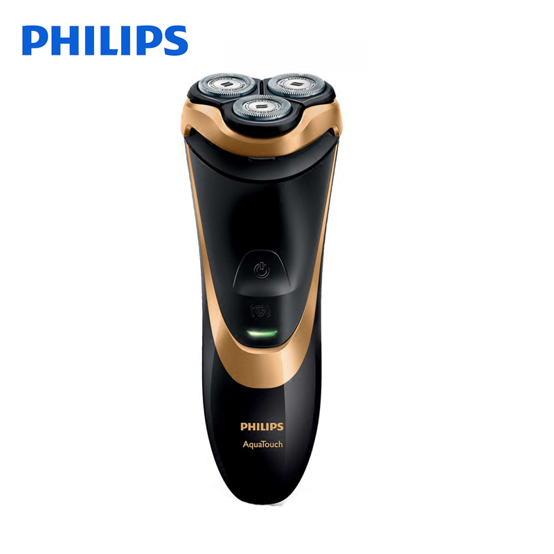Philips Electirc Shaver AT798 Rotary with 3D Floating Heads Ribbed Rubber Handle Rechargeable 100-240V for Men's Electric Razor