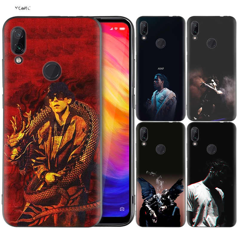 Silicone Coque Case for Xiaomi Redmi Note 7 6 5 Pro Mi A1 A2 8 Lite 9 GO Poco F1 S2 4 4X Plus Big baby Tape Rapper