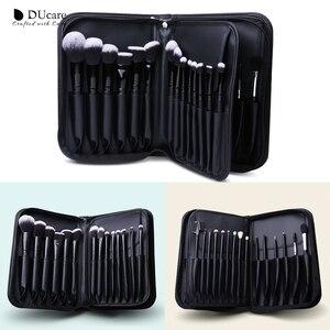 Image 4 - DUcare 27PCS Professional Makeup Brushes Set Powder Foundation Eyeshadow Make Up Brushes Soft Synthetic Hair Goat Hair Brushes