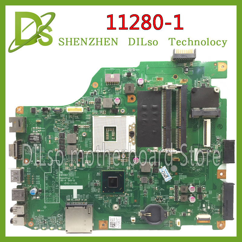 KEFU 11280-1 For Dell 3520 DV15 MLK MB 11280-1 PWB:MXRD2 REV:A00 Laptop Motherboard FOR DELL INSPIRON 3520 HM75 Test