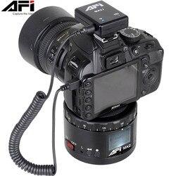 AFI Ma2 aluminium LED elektroniczna Panorama Head Time Lapse panoramiczny statyw do aparatu/stabilizator telefonu obrót do 360 Timelapse
