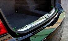 Стайлинга автомобилей! Для BMW 7 серии F01 2010 2011 2012 2013 2014 2015 Внутренний Задний Бампер Protectore Пластины