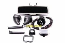 Espelho retrovisor para vw tiguan jetta mk5, interruptor de farol automotivo com sensor de chuva e antirreflexo golf 6 mk6,