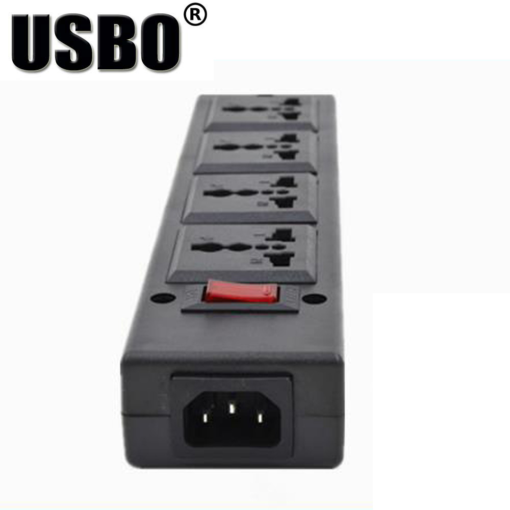 Wiring A 4 Plug Outlet Buy Black 250v 10a Jack Multifunction Universal Power Adaptor Pdu Strip Board Extension Socket Cord Converter From