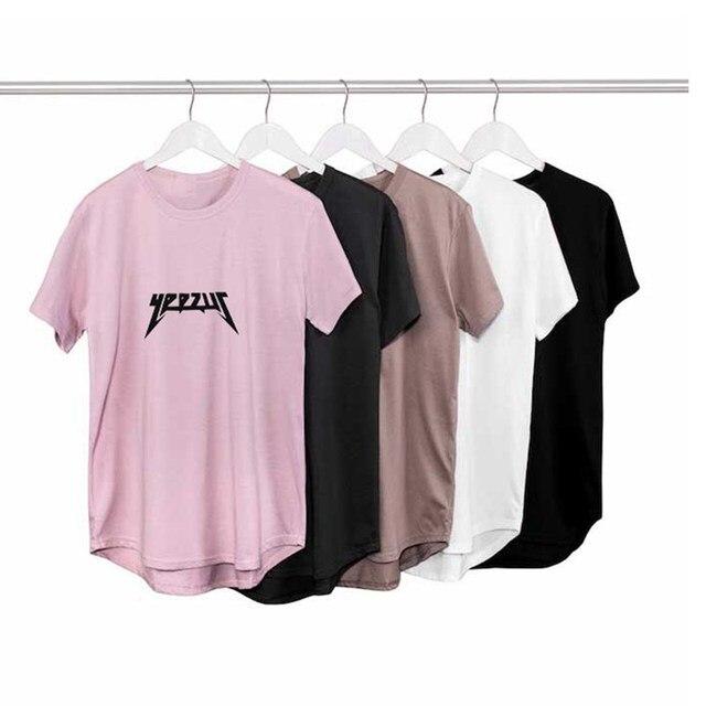 Yeezus T-Shirt Dos Homens Anti Social Clube Hip Hop ASSC Streetwear t camisa homens Camisa de Manga Curta camisa KANYE WEST masculina