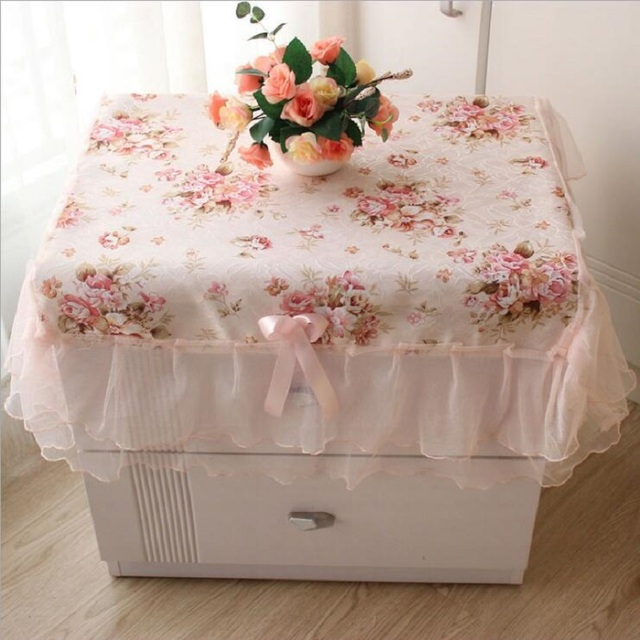 Good Fabric Garden Bedside All Purpose Covers Towel Lace Dust Covers Small  Tablecloth Universal Cover Towel
