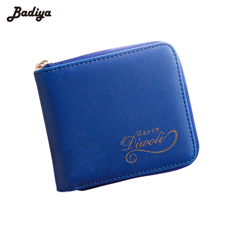 Fashion Card Holders Wallet Square Women Coin Purses PU Leather Female Money Wallets Famous Brand Women Change Purse Wallet ougold women wallet famous brand fashion smooth pu leather female thin hasp wallets red credit card holders