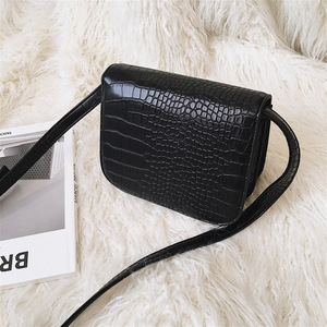 Image 3 - High quality designer satchels brand pu leather purses and handbags ladies chain clutch tofu bag messenger tote Alligator flap
