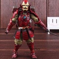 Movie Realization Marvel Figure Manga Realiziaon Iron Man Toy Manga Anime Action Figure Toy Doll for Children 17.5cm
