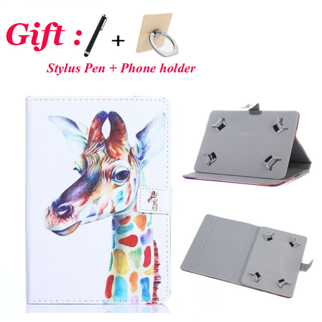 Universal 8 Cartoon Cover for ASUS ZenPad 8.0 Z380C Z380M Z380KL 8 inch Tablet PU Printed Leather Stand Case for Kids + 2 Gifts z380m 6b024a