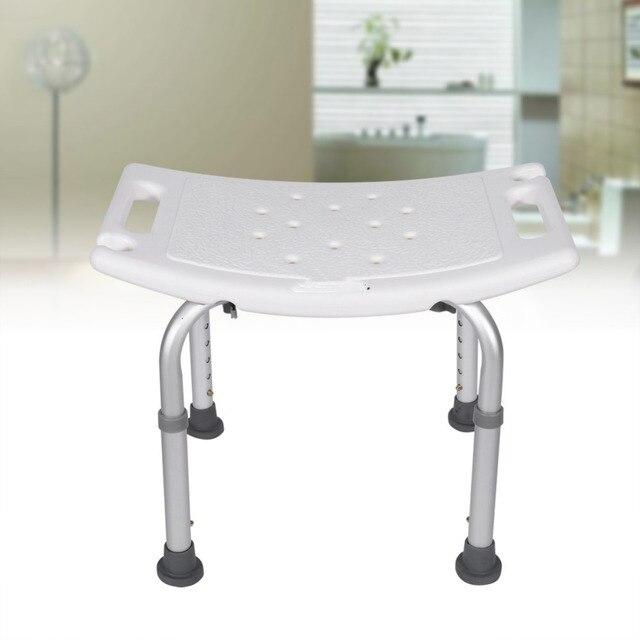 die robuste dusche hocker bad hilfe sitz stuhl ohne zurck hhenverstellbar bequem bad montiert sitz produkte - Sitz Stuhl Fur Dusche