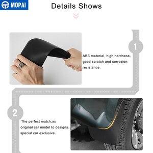 Image 4 - MOPAI Parafanghi per Suzuki Jimny 2007 2015 Guardie di Fango ABS Auto Esterno Proteggere Decorazione Splash Flaps Parafanghi Accessori Auto