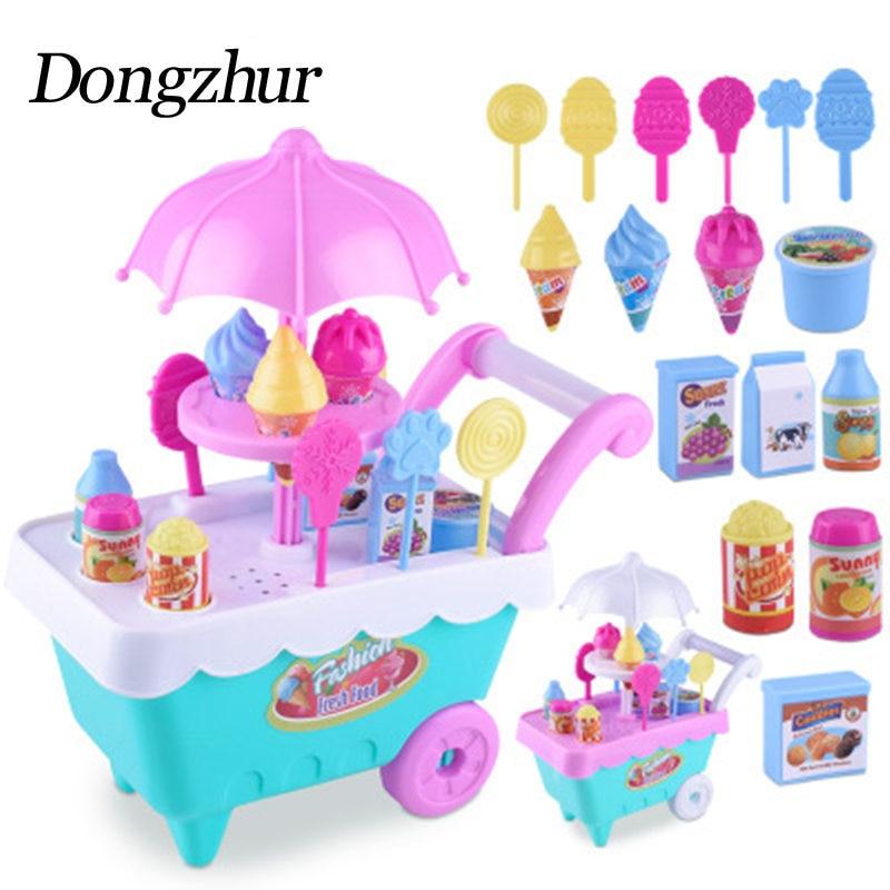 Dongzhur Play House Ice Cream Shopping C