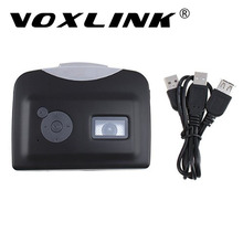 VOXLINK USB Cassette Tape to MP3 Recorder Converter to USB Flash Drive U Disk,Audio Capture Music Player with Earphone
