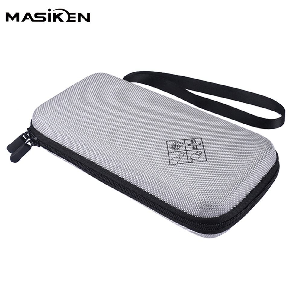 MASiKEN EVA Shockproof Carry Storage Travel Case for Texas Instruments TI-84 Plus CE/Color TI-83 Plus Bag Protective Pouch Box