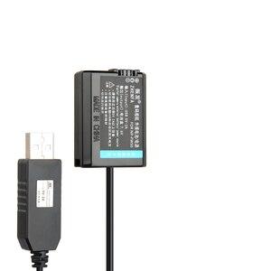 Image 3 - NP FW50 Fake Battery 5V USB AC PW20 Power Adapter For Sony NEX 7 NEX 5N NEX F3 A7 NEX 5R NEX 6 NEX 3 NEX 3A Alpha 7R II Camera