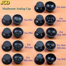 JCD 2pcs Joystick Analogico Stick grip Cap per Sony PlayStation 3 / 4 PS3 PS4 PR0 Xbox 360/un Controller WII