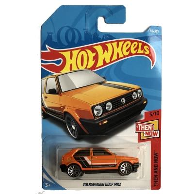 New Arrivals 2018 8d Hot Wheels 1:64 orange Volks golf mk2 Car Models Collection Kids Toys Vehicle For Children hot cars ...