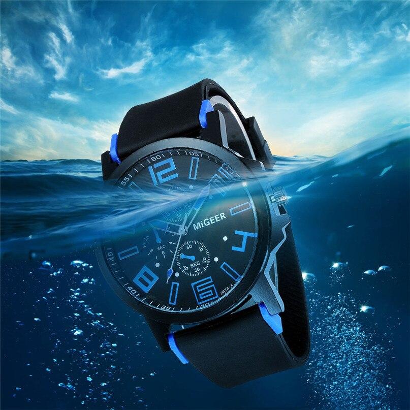 New Watches Men Luxury Brand Men Complete Calendar Sports Watches Waterproof Stainless Steel Dial Quartz Men's Watch #4M18#F