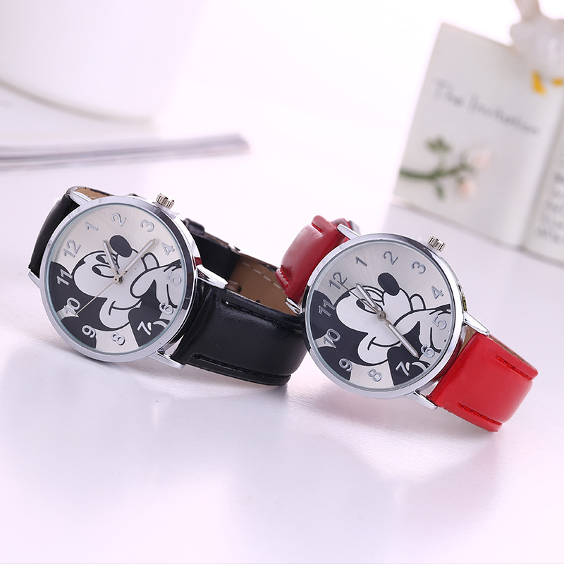 Cute cartoon student, child watch, Mickey Mouse kid watch meter wholesale