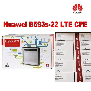 Lot of 20opcs Huawei B593s-22 4G LTE CPE Wireless and WLAN Router + a pair of antenna
