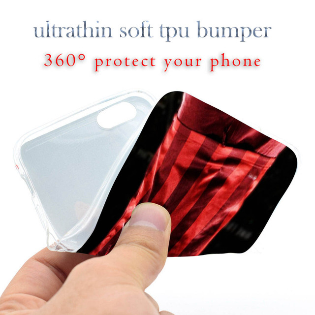 Drogba football star Soft TPU Silicone Phone Case Cover for iPhone 4 4S 5C 5 SE 5S 6 6S 7 Plus