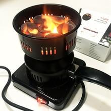 QMJHVX 220V Hookah Charcoal Charcoal Pack Coconut Charcoal Charcoal Hookah Special Heater Burning Stove Chicha Nargile Accessori