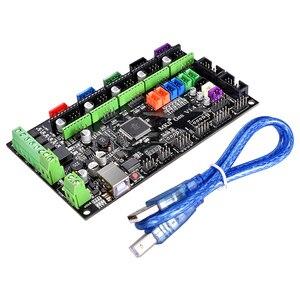 Image 4 - BIQU kit de cartes de contrôle Bigtreetech MKS Gen V1.4 avec écran LCD 12864, moteur pas à pas, TMC2130, TMC2208, A4988, DRV8825