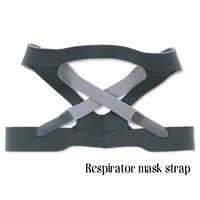 Casco dedicado para máscaras CPAP cinta de fibra elástica Anti-ronquido máscara Nasal Universal correa de cabeza máscara de cara correa para médico