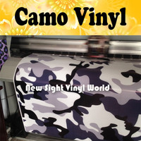 Jumbo Blue Midnight Camouflage Vinyl Wrap Film Blue Midnight Camo Vinyl Sticker Air Drain Vehicle Wraps Size:1.50*30m/Roll