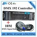 1 шт./DMX 192 контроллер + 10 М DMX сигнальная линия профессиональный сценического освещения DJ Контроллер