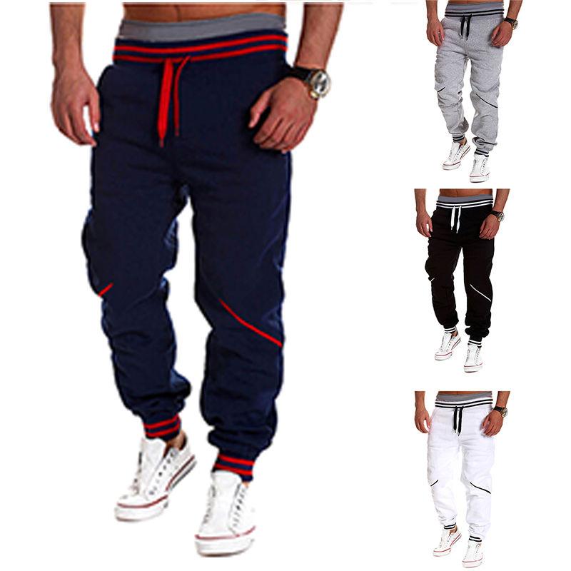 Men Casual Jogger Street Dance Gym Sportwear Baggy...