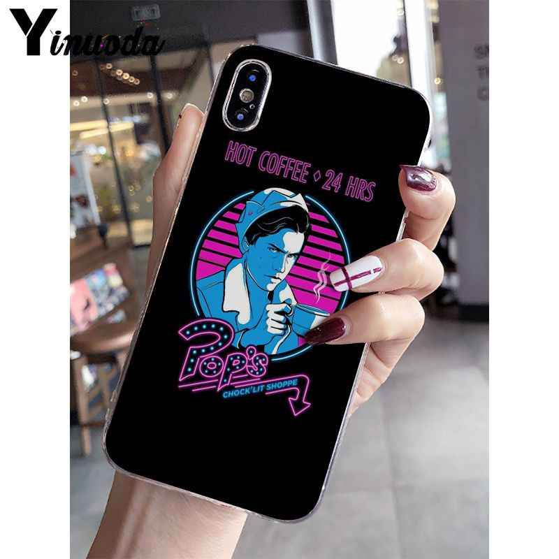 Yinuoda Riverdale South Side Serpents Soft Silicone Phone Case for Apple iPhone 8 7 6 6S Plus X XS MAX 5 5S SE XR Mobile Cover