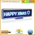 Горячая продажа синий светодиодный свет светодиодный знак автомобиля USB Программируемый сообщение перемещение прокрутки дисплей доска вы...