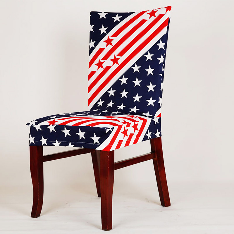 1Pc Spandex Elastic Removable Dining Stretch Chair Cover Flag Floral  Pattern Chair Cover Party Hotel Banquet Chair Seat Cover In Chair Cover  From Home ...