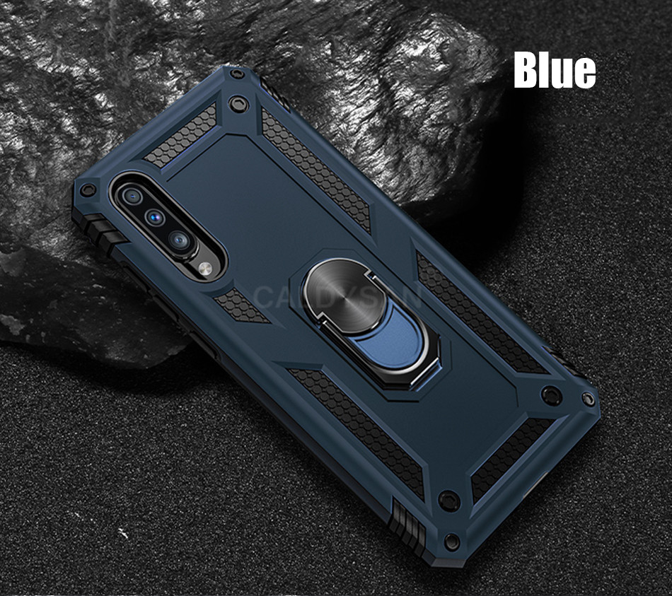 HTB1qDiVcv5G3KVjSZPxq6zI3XXaQ - Luxury Armor Shockproof Case For Samsung Galaxy A50 A30 A51 A71 S20 Ultra S9 S10 S8 Note 8 9 10 Plus Car Holder Ring Case Cover