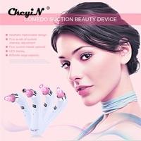 Ckeyin 4 In 1 Comedo Blackhead Vacuum Suction Acne Pore Cleaner Facial Skin Care Beauty Machine