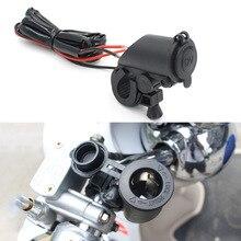 Адаптер для прикуривателя мотоцикла с двумя usb-разъемами для зарядного устройства, аксессуары для мотоцикла с быстрой зарядкой
