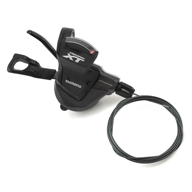 SHIMANO Deore XT SL M8000 11 vitesses 2x11 3x11 vitesse manette de vitesse levier déclencheur gauche et droite avec câble intérieur