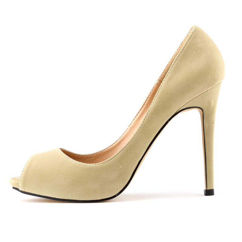 Mince bleu Clair Femmes Toe 2019 Bleu Loslandifen vert Talons jaune blanc rose Chaussures rouge Cm Slip Office Rouge Lady Noir Noir Troupeau Rouge Pompes jaune pourpre Vert Haute 11 Peep on qfwndXz1w